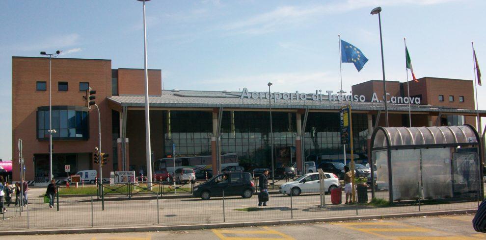 Treviso TSF Antonio Canova Airport for BookTaxiVenice by BLV